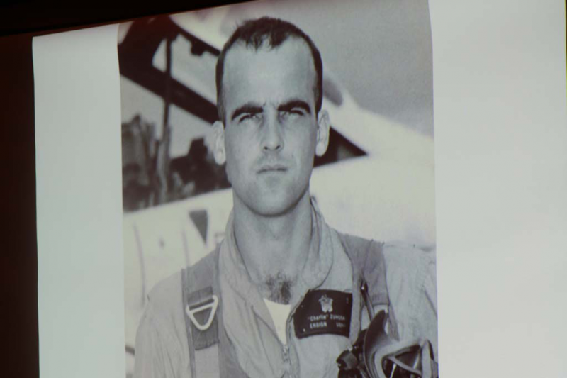 Charles Zuhoski as a young Naval fighter pilot