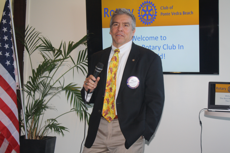 Will Montoya describes the many Rotarians who have helped him grow his business over the years