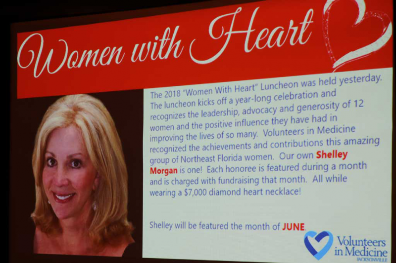 Congratulations to Shelley Morgan for being recognized as a Woman with Heart!
